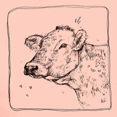 Kunst Cow art Get The Right Filler For Your Children's Play Area If you are currently creat Pretty Art, Cute Art, Art Inspo, Drawing Sketches, Art Drawings, Bel Art, Art Du Croquis, Art Mignon, Arte Sketchbook