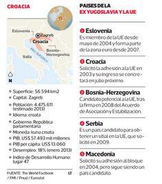 El 1 de julio Croacia ingresará a la Unión Europea. El país solicitó su ingreso hace 10 años y ahora se transformará en el segundo país de la ex Yugoslavia en sumarse al grupo, tras Eslovenia.