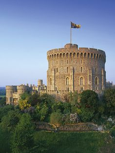 Windsor Castle, England is just over an hour away and makes a wonderful day trip. View the castle, take a trip on the glorious River Thames, tramp the streets of this lovely town, with all it's great little shops.  Photo from flickr.com