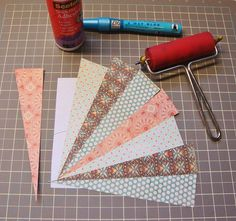 I don't know about you but I have tons of paper pad scraps in my collection. Today I'm sharing the hot trend of Starburst or sunburst patte...