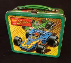 Hot wheels vintage lunchbox. $25,00, via Etsy.