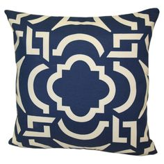 Geometric design pillow