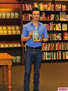 Chris Colfer I have his book is really good...