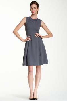 seamed fit & flare dress by kate spade on @nordstrom_rack