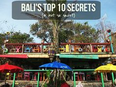 Bali's Top 10 Secrets #bali #beaches #restaurants