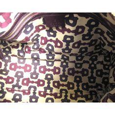 Image result for GUCCI HANDBAG LININGS Gucci Handbags, Hobo Bag, Alexander Mcqueen Scarf, Brown, Leather, Image, Women, Fashion, Gucci Purses