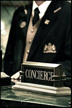 Concierge - Extravagance, Decadence, Opulence & Luxe