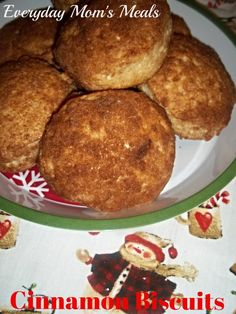 ~Cinnamon Biscuits~ A delightful, delicious breakfast or brunch item. Take a little help from the store to give your family something yummy they will love.