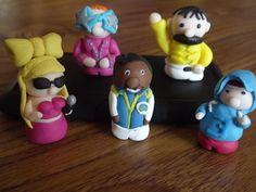 Fimo famous characters @Eloise Fairhurst