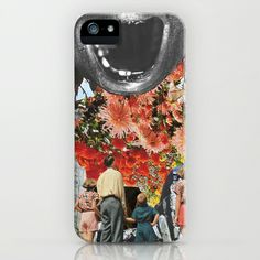 The Scream by Zabu Stewart iPhone  iPod Case by Zabu Stewart - $35.00