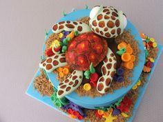 Finding Nemo Fondant Birthday Cake