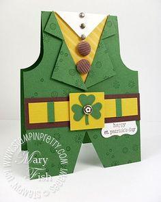 Go Green - cute card.