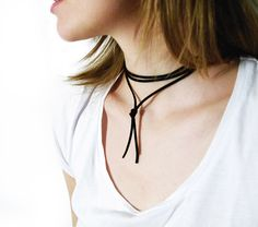 DIY jewellery, suede choker necklace, do it yourself, craft, DIY necklace, fashion trends