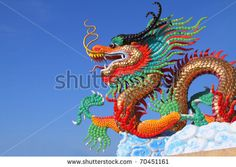 chinese dragon statue - Google Search