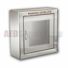 STAINLESS Standard Basic (Semi Recessed Mount) Cabinet - AMP180-SSSR3 by Allied 100, LLC. $219.00. Part Number: AMP180-SSSR3. Manufacturer: Allied 100, LLC. STAINLESS STEEL AED Wall Cabinet (Standard Size) without Door Alarm System. Semi-Recessed Mount