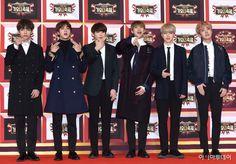 BTS at KBS 2016 KBS Song Festival Red Carpet [161229]