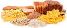 Example of carbohydrates: grains