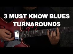 3 Must Know Blues Guitar Turnarounds Blues Guitar Lessons, Guitar Tips, Music Lessons, Music Theory Guitar, Guitar Songs, Acoustic Guitar, Delta Blues, Custom Writing, Guitar Design