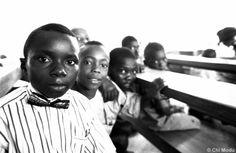 School kids in Nigeria
