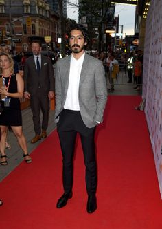 """Dev Patel Photos Photos - Actor Dev Patel attends the """"Lion"""" premiere during the 2016 Toronto International Film Festival at Princess of Wales Theatre on September 2016 in Toronto, Canada. Dev Patel, Sharp Dressed Man, Film Awards, International Film Festival, Lion, Celebs, Celebrities, Hollywood Stars, Cute Guys"""