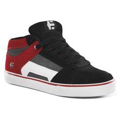 Etnies KIDS RVM vulc black red grey skate shoes junior 65€ #shoes #etnies #shoe #skate #skateboard #skateshop #streetshop #rvm #etniesrvm #rvmetnies #chaussure #chaussures #kid #kids #junior #boy #boys #enfant #enfants #youth