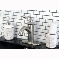 Shop Kingston Brass  FS541 Royale Single Handle Centerset Lavatory Faucet with Push-Button Pop-Up Drain at ATG Stores. Browse our bathroom faucets, all with free shipping and best price guaranteed.