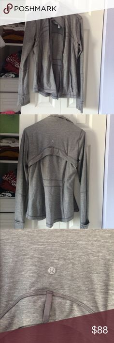 Lululemon Jacket Lightly used, slight piling on sleeve, size 8 lululemon athletica Jackets & Coats