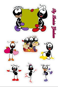 Cute Good Morning, Printable Stickers, Betty Boop, Ants, Christian Quotes, Painted Rocks, Scrapbook Paper, Cake Toppers, Mickey Mouse