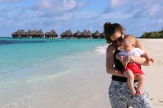 A packing list for anyone travelling to the Maldives with a baby - everything you need to pack for a baby in the Maldives.