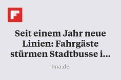 Seit einem Jahr neue Linien: Fahrgäste stürmen Stadtbusse in Göttingen http://flip.it/NTXIH