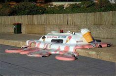 Melted Ice Cream Truck in Adelaide, Australia