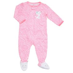 Little Me Baby-Girls Infant Christmas Plaid 2 Piece Pajama ...