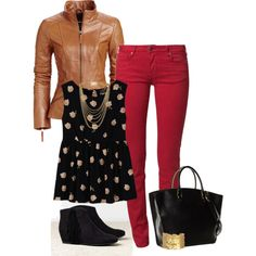"""""""Fun Fall Outfit!"""" by jjanstover on Polyvore"""