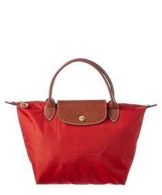 LONGCHAMP Longchamp Le Pliage Small Nylon Top Handle .  longchamp  bags   leather  hand bags  nylon  lining   bd6a1519af