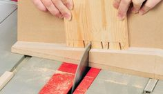 How to Build a Table Saw Dovetail Joint Sled Jig - Free Woodworking Plans