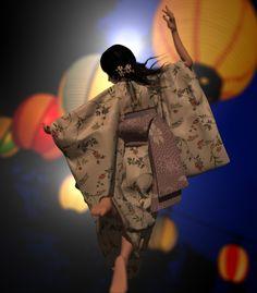 踊り明かそう! by +α Kimono Top, Women, Fashion, Moda, Women's, La Mode, Fasion, Fashion Models, Trendy Fashion