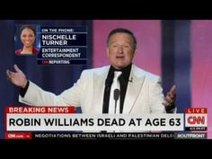 CNN Breaking News: Robin Williams Dead (8/11/2014)