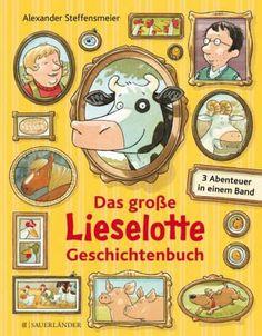 Ein Sammelband mit den drei beliebtesten Geschichten der Bilderbuchkuh. Lieselotte lauert , Lieselotte sucht einen Schatz und Lieselotte bleibt wach .