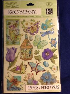 K & Company Clearly Yours  SW Botanical by CynthiasCraftingNook, $3.50