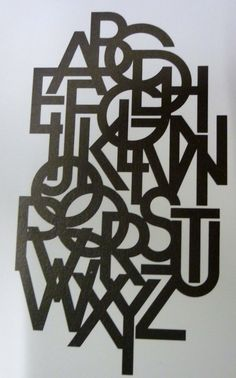 Herb Lubalin - NOT a cut out but so easily could be!