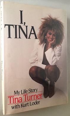 Tina Turner's autobyography book