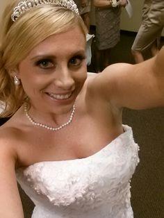 Selfie on my wedding day