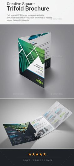 square trifold brochure feature square trifold brochure ai eps
