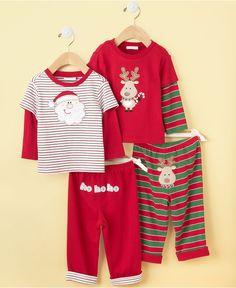 Popular Cute Best Boy Girl Christmas Pajamas Trendy Sibling Xmas Matching PJs Gift Ho Ho Ho Christmas Pajamas Toddler Baby Kid Hipster