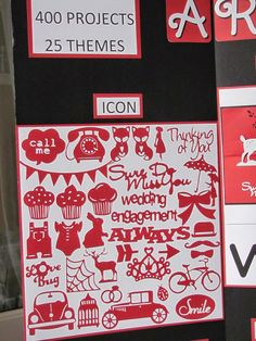 i love 2 stamp and scrapbook by Laurie in Louisiana: Artfully Sent Close to my Heart Cricut Cartridge Display Board