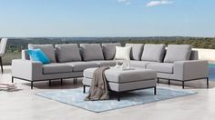 June Outdoor L Shape Lounge | Lavita Furniture