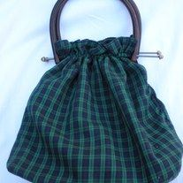 mod! vintage blue green plaid bermuda handbag; amber lucite handles; reversible navy blue wool like material  DESIGNER: Vintage  Marked SIZE: medium FABRIC: Acrylic, cotton CONDITION: great Vintage Condition Additional belts are available if you are looking for a specific color or type that ... Blue Green, Navy Blue, Blue Wool, Vintage Handbags, Indie Brands, Preppy, Bucket Bag, Belts, Amber