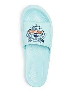 Lacoste Para Hombre Blanco Sandalias Playa Vacaciones diapositivas de lujo Fraiser T