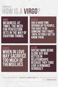 Sounds like Me... As I am a Leo/Virgo