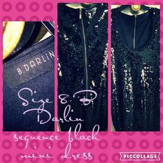 Selling this Black mini dress in my Poshmark closet! My username is: trish_tha_dish. #shopmycloset #poshmark #fashion #shopping #style #forsale #B Darlin #Dresses